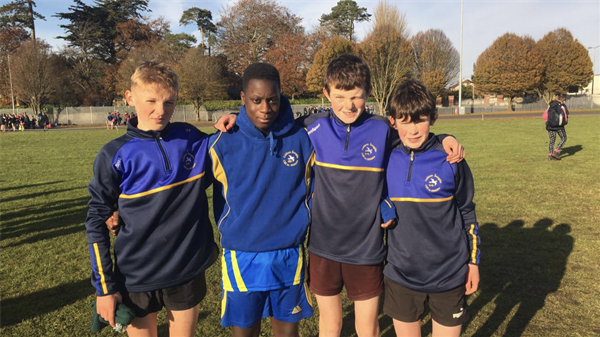 Cross Country Runners' Success!