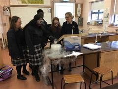 Science Week and Polar Ice .