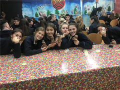 Transition Year Students Visit Chocolate Garden .