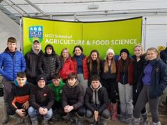 Agricultural Science Students Visit Lyons Estate